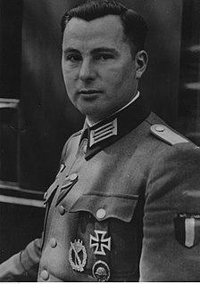 Léon Degrelle Belgian politician, Nazi