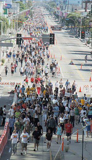 AIDS Walk - 2007 Los Angeles, California AIDS Walk.