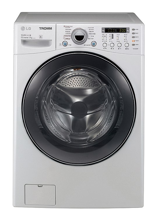 front load washing machine image