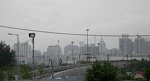 Lok Ma Chau Spur Line - Elevated section