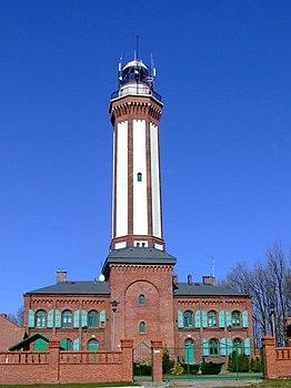 Polski: Wieża latarni morskiej