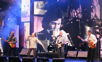 Little River Band - Former members of Little River Band performing at their induction into the ARIA Hall of Fame, 17 October 2004