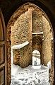 La Rocca e la Galaverna....ghiaccio sulla neve.jpg