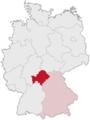 Lage von Unterfranken in Deutschland.png