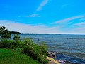 Lake Mendota seen from Warner Park Beach - panoramio.jpg