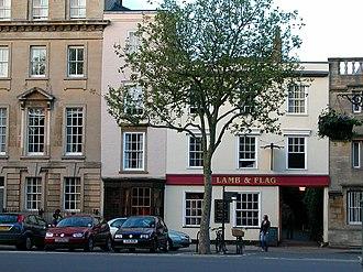 Lamb & Flag, Oxford - Image: Lamb and Flag