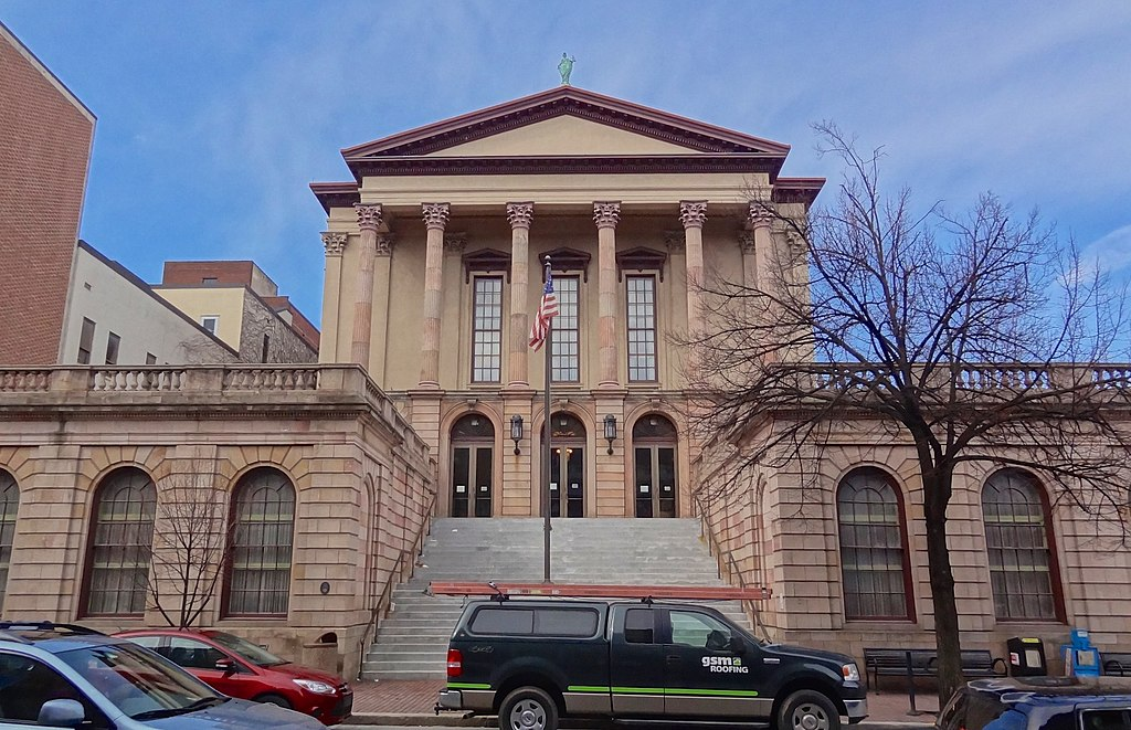 Lancaster County Courthouse, King Street elevation