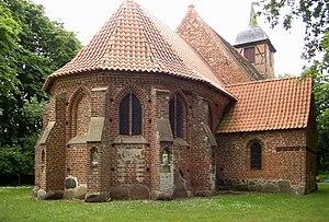 Dreschvitz - Image: Landow, Dorfkirche 2