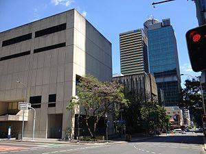 Brisbane Quarter -  Former Law Courts buildings in November 2013