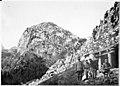 Le Freikopel que les Alpins ont escaladé et pris d'assaut, malgré la forte défensive autrichienne - Médiathèque de l'architecture et du patrimoine - AP62T019226.jpg