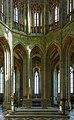 Le Mont-Saint-Michel France Abbey-Church-03.jpg