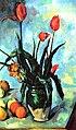 Le Vase de tulipes, par Paul Cézanne, Yorck.jpg