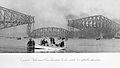 Le pont de Quebec avant l ecroulement de l arche centrale le 11 septembre 1916.jpg