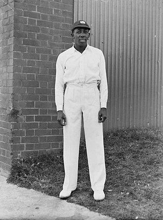 Learie Constantine - Constantine in his West Indies cap