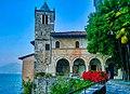 Leggiuno Monastero di Santa Caterina del Sasso Chiesa Esterno 8.jpg