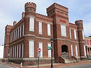 First Battalion Virginia Volunteers Armory United States historic place
