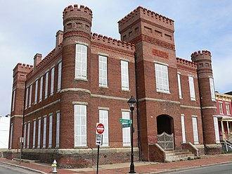Jackson Ward - Leigh Street Armory, Refurbished into a Black History Museum.