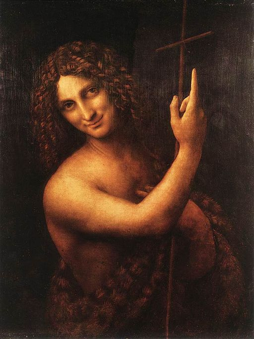 """St John the Baptist"" by Leonardo da Vinci"
