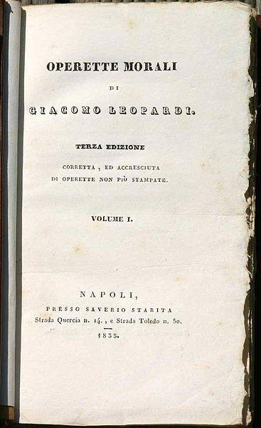 File:Leopardi Operette Morali Napoli 1835.jpg
