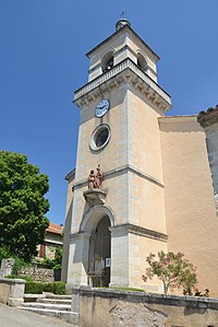 Les Granges-Gontardes - église 2.JPG