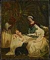 Les mères de Paul et Virginie devant leur berceau (copie anonyme d'après Adèle Ferrand).jpg