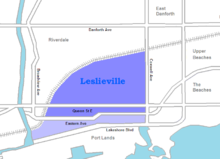 Leslieville map.png