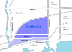 Leslieville Wikipedia