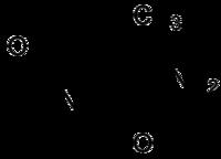 Strukturformel von Levetiracetam