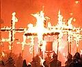 Lewes Bonfire, Martyrs Crosses 02 detail (cropped).jpg