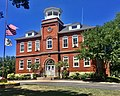 "Lewiston Municipal Building - fmr Lewiston High School (aka ""The Red Brick Schoolhouse"") - Lewiston, New York - 20200730.jpg"