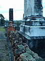 Lichen and knobbly grave surround - panoramio.jpg