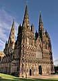 Lichfield Cathedral Feb West Front.jpg