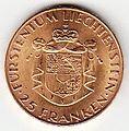 Liechtenstein 25 FR 1961 Revers.jpg