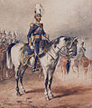 Lieutenant-Colonel Lord George Augustus Frederick Paget 4th (Queen's Own) Light Dragoons, Dublin 1850, by Michael Angelo Hayes (1820-1877).jpg