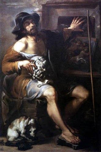 Livio Mehus - The Blind Man of Gambassi