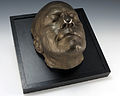 Life mask of President Gerald R. Ford.JPG