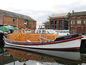 Oakley-class lifeboat - 48-12 Charles Henry in private use (Exeter, 2007)