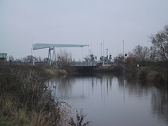 Countess Wear - Bascule bridge over the Exeter Canal