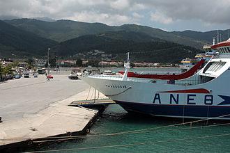 Thasos (town) - Limenas port of Thasos