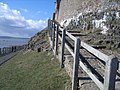Lindisfarne Castle - steps up to castle - geograph.org.uk - 741675.jpg