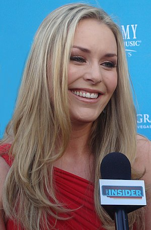 Lindsey Vonn - Vonn in April 2010