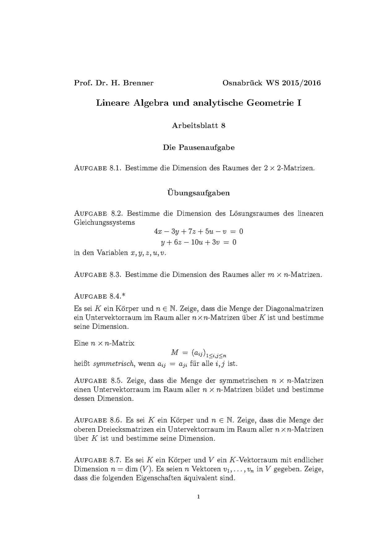 File:Lineare Algebra (Osnabrück 2015-2016)Teil IArbeitsblatt8.pdf ...