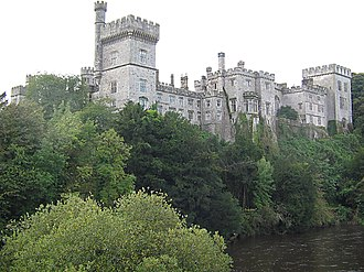 Plantations of Ireland - Lismore Castle, County Waterford, acquired by Boyle and turned from a fortress into a stately home