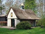 Eendenhuis op landgoed keukenhof te lisse 19e eeuw