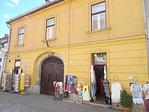 Clothes shop - Clothes shop in Eger, Heves County, Hungary.