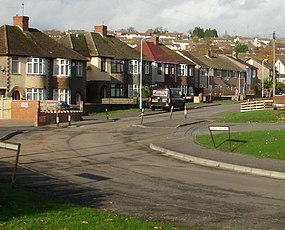Liswerry Road north of the railway - geograph.org.uk - 1589627.jpg