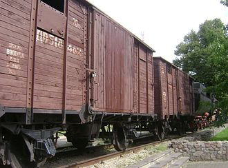 Deportation of the Crimean Tatars - The deported peoples were transferred in sealed off railroad cars