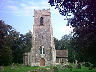 Little Glemham village in the United Kingdom