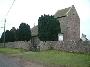 Llanvaches - Image: Llanvaches church