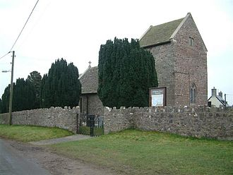 Llanvaches - Image: Llanvaches church